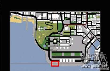 Nueva pista para deriva para GTA San Andreas sucesivamente de pantalla
