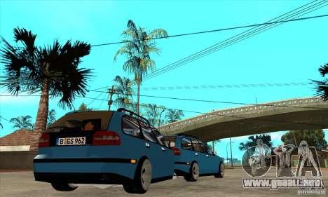 Remolque para el Volvo V40 para la visión correcta GTA San Andreas
