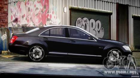 Mercedes-Benz S63 AMG [Final] para GTA 4 vista interior