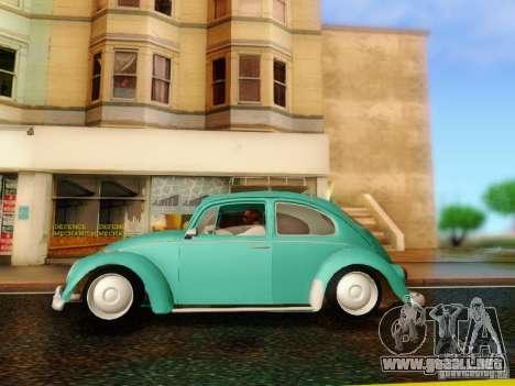 Volkswagen Beetle 1300 para la visión correcta GTA San Andreas