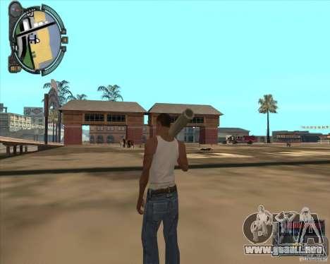 S.T.A.L.K.E.R. Call of Pripyat HUD for SA v1.0 para GTA San Andreas séptima pantalla