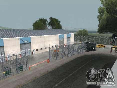 El primer taxi Parque versión 1.0 para GTA San Andreas