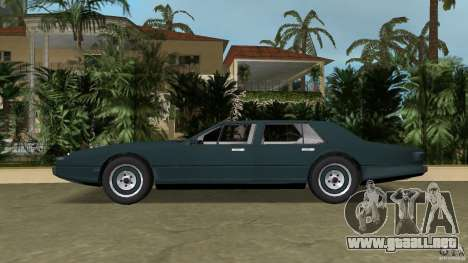 Aston Martin Lagonda (I) 5.3 (1976-1997) para GTA Vice City left