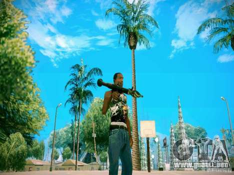 Armas Pack HD para GTA San Andreas tercera pantalla