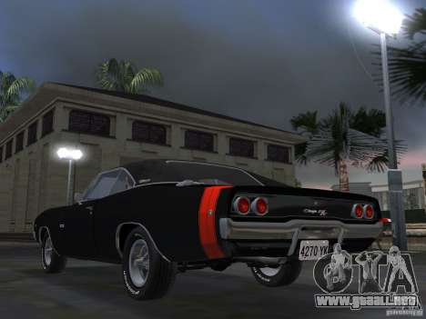 Dodge Charger 426 R/T 1968 v2.0 para GTA Vice City vista lateral izquierdo