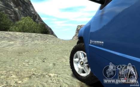 Chevrolet Silverado 2008 para GTA 4 vista hacia atrás