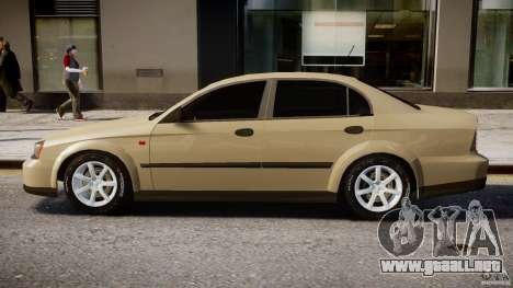 Chevrolet Evanda para GTA 4 Vista posterior izquierda