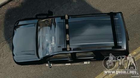 Chevrolet Tahoe LCPD SWAT para GTA 4 visión correcta