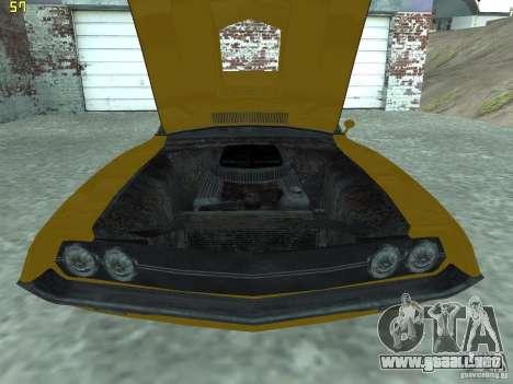 Ford Torino 70 para la visión correcta GTA San Andreas