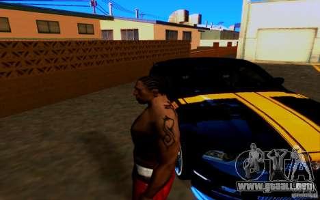 Slipknot tatoo para GTA San Andreas tercera pantalla