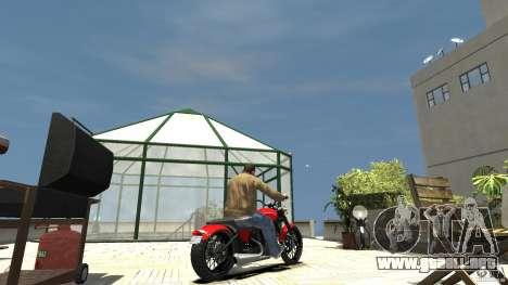 The Lost and Damned Bikes Nightblade para GTA 4 Vista posterior izquierda