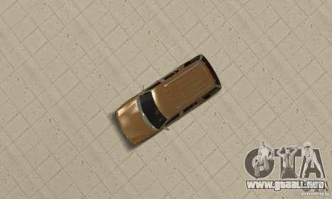 Ford Explorer 2002 para GTA San Andreas vista hacia atrás