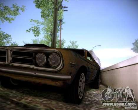 Pontiac Ventura 1971 para visión interna GTA San Andreas