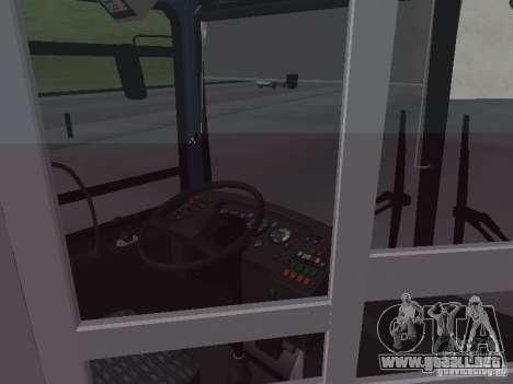 Autobuses 6222 para la vista superior GTA San Andreas