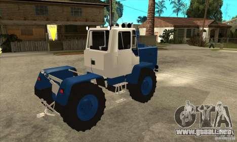 Corte de tractor para la visión correcta GTA San Andreas