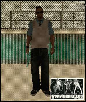 Nuevo reportero para GTA San Andreas segunda pantalla