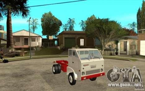 Dac 444 T para GTA San Andreas vista hacia atrás