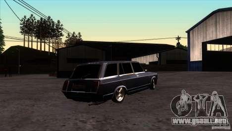 VAZ 2104 para la visión correcta GTA San Andreas