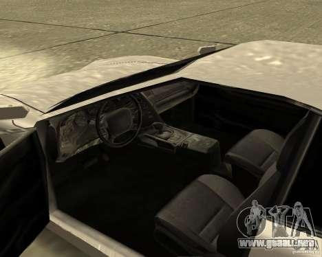 Azik Turismo para la visión correcta GTA San Andreas