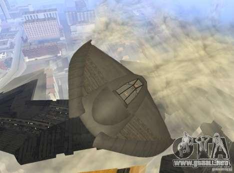 Death Glider para visión interna GTA San Andreas
