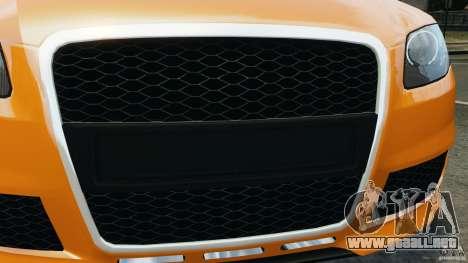 Audi RS4 EmreAKIN Edition para GTA 4 vista desde abajo