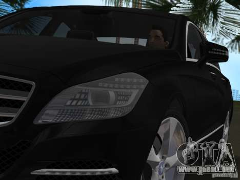 Mercedes-Benz CLS350 para GTA Vice City vista lateral izquierdo