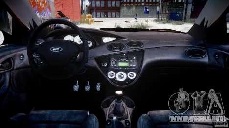 Ford Focus SVT para GTA 4 visión correcta