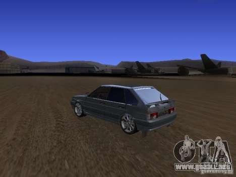ВАЗ 2114 Tuning para GTA San Andreas left