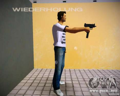 Pak armas de GTA4 para GTA Vice City octavo de pantalla