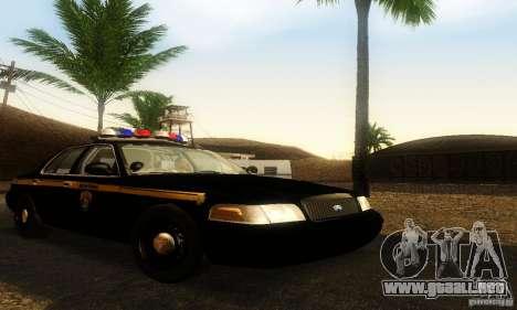 Ford Crown Victoria Montana Police para GTA San Andreas