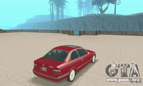 BMW 325i Coupe para GTA San Andreas left