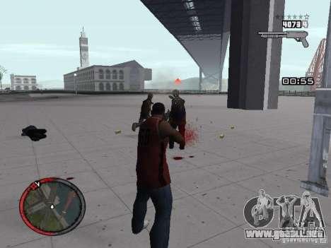 MASSKILL para GTA San Andreas sucesivamente de pantalla
