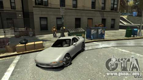 Mazda RX7 1995 Stock [EPM] para GTA 4 vista superior
