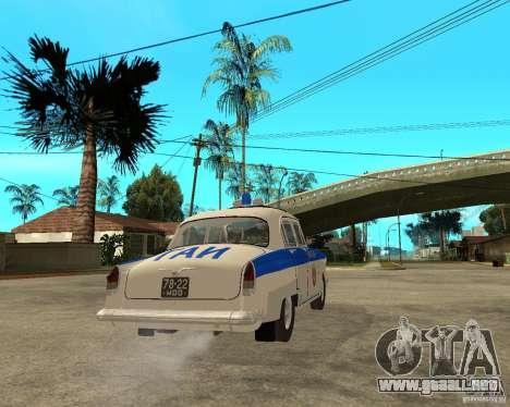 Gaz-21r GAI para la visión correcta GTA San Andreas
