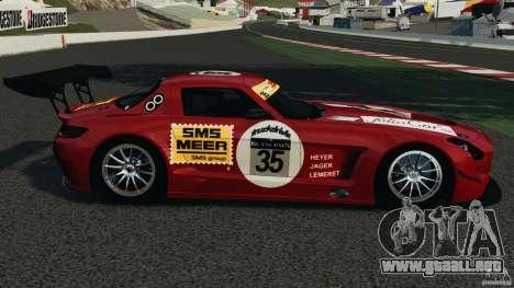 Mercedes-Benz SLS AMG GT3 2011 v1.0 para GTA 4 left