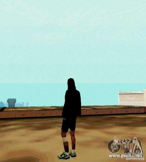 New Skin para GTA San Andreas segunda pantalla
