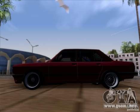 BMW 5-er E28 para GTA San Andreas left