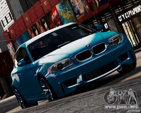 BMW M1 2011 v1.0 para GTA 4 visión correcta