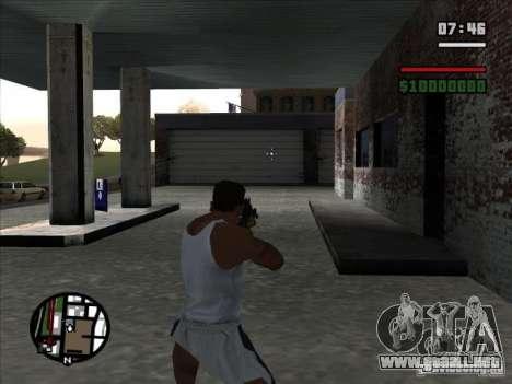 I AM Legend M4A1 para GTA San Andreas tercera pantalla