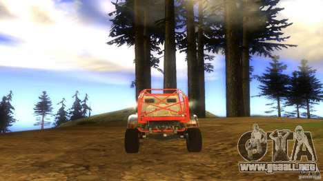 Insane 2 para GTA San Andreas vista hacia atrás