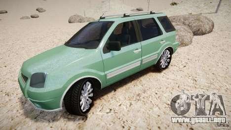 Ford EcoSport para GTA 4 ruedas