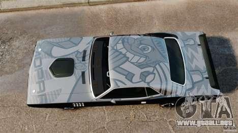 Plymouth Cuda 1971 [EPM] Mopar para GTA 4 visión correcta