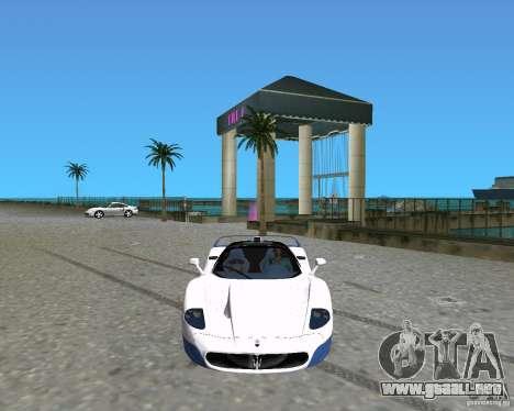 Maserati MC12 para GTA Vice City left