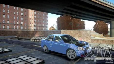 Lada Priora Light Tuning para GTA 4 left