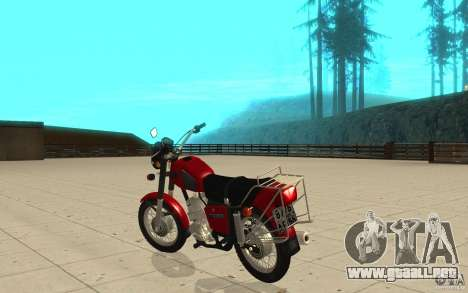 IZH Planeta 5 para GTA San Andreas vista posterior izquierda