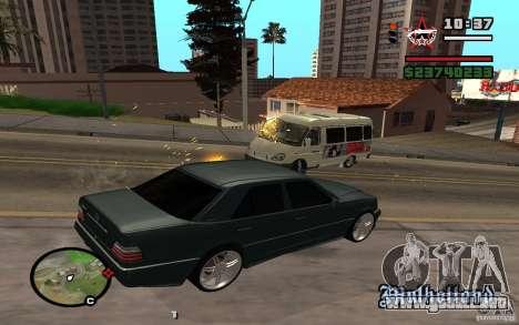 Disparar fuera del auto en GTA 4 para GTA San Andreas segunda pantalla