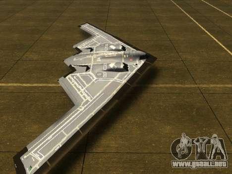 B2 Spirit para GTA San Andreas left