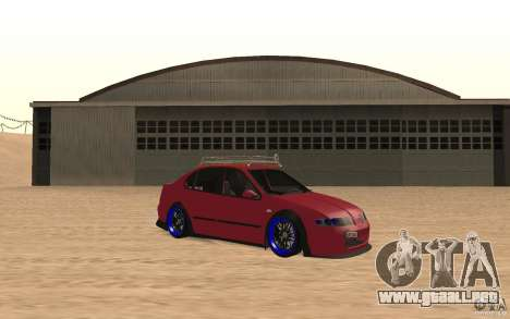 Seat Toledo 1999 Tuned para GTA San Andreas left