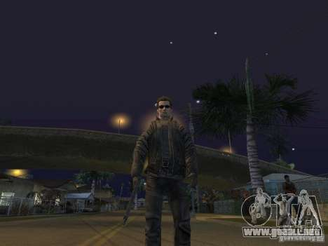 Terminator para GTA San Andreas sucesivamente de pantalla