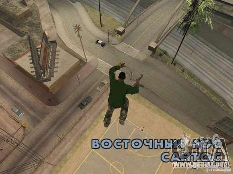 Saltar el Jet pack para GTA San Andreas tercera pantalla